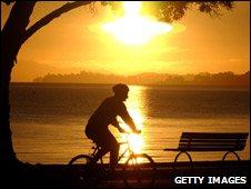 Cyclist, New Zealand 2003