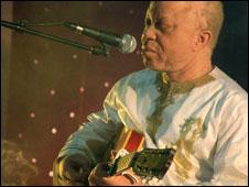 Malian musician Salif Keita