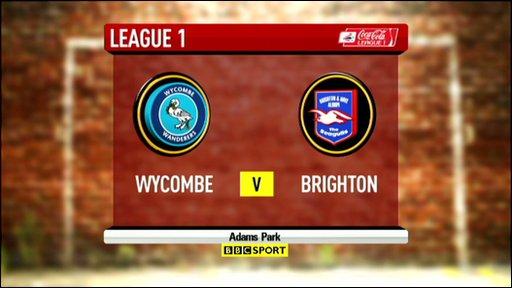 Wycombe 2-5 Brighton