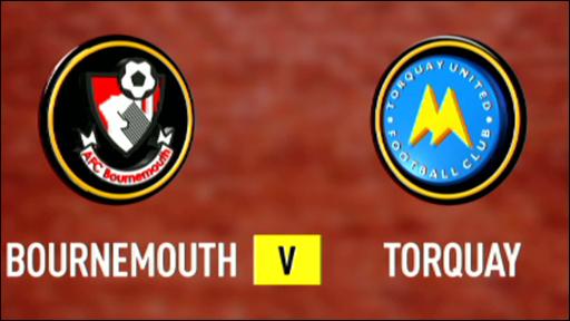 Bournemouth v Torquay
