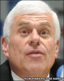 Cardiff City chairman Peter Ridsdale
