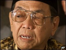 Former Indonesian President Abdurrahman Wahid ( file photo)