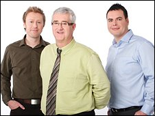 BBC Radio Stoke sports team