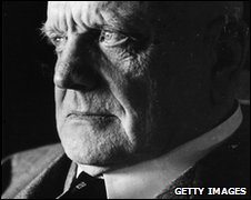 Jean Sibelius, pictured in 1948