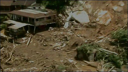 Landslide in Brazil