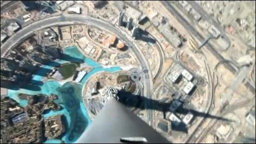 View from Burj Dubai