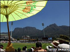 Hot weather at Newlands