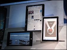 Tablets unveiled at CES