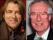 Jonathan Ross and Barry Norman