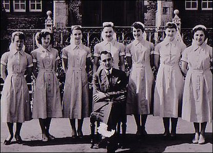 Denbigh Hospital staff