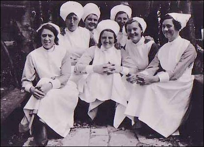 Nursing staff from the mid 1930s