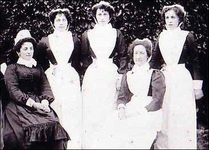 Hospital nurses, date unkown