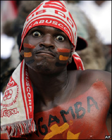 Angola fan