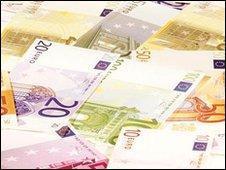 Euro ntoes