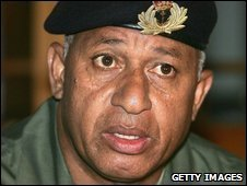 Commodore Frank Bainimarama - December 2006