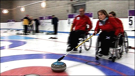 Great Britain's Winter Paralympic curlers
