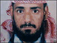 Photo released by Yemen Interior Ministry which says it shows suspected al-Qaeda local chief Abdullah Mehdar