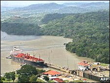 Panama Canal lock