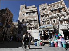 Market in Sana