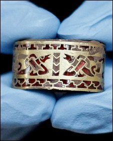 Pommel from The Staffordshire Hoard