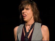 Chrissie Hynde of The Pretenders