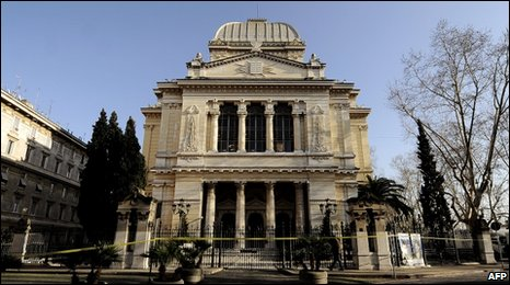 Rome's synagogue