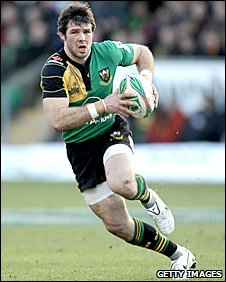 Ben Foden in action