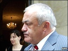 North Ossetia's President Mamsurov