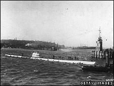 U-boat at Heligoland