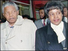 Nelson and Winnie Mandela