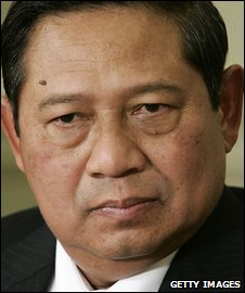 Indonesian President Susilo Bambang Yudhoyono (file image)