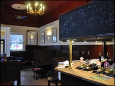 The refurbished Devonshire Arms