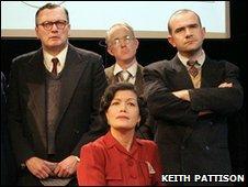 Actors in The Pitman Painters