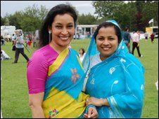 Two ladies at the Mela