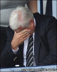 Chairman Peter Ridsdale has been trying to find investors for the club