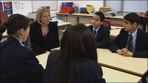 Sophie Long with School Reporters