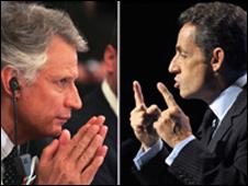 Villepin, Sarkozy