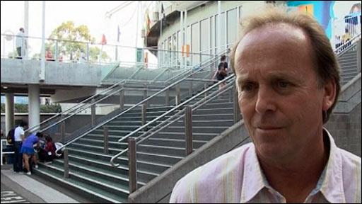 Former Australian Open finalist John Lloyd
