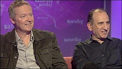 Rory Bremner and Armando Iannucci