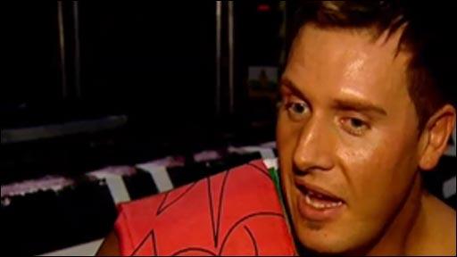 Welsh wrestler 'Big' Rob Terry
