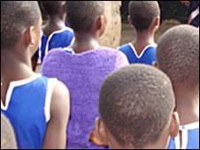 Schoolgirls in Ghana