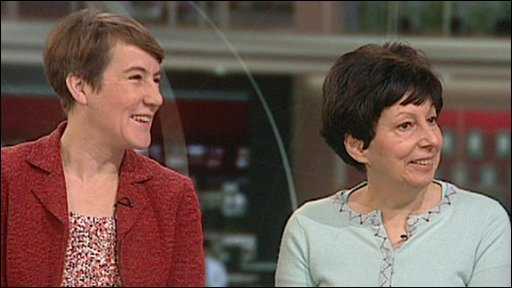 Alice Hudson and Sue Fieldman