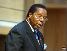 Malawian President Bingu wa Mutharika - photo November 2005