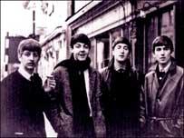 The Beatles in Tenbury Wells High Street