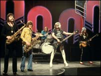 Mott the Hoople on Top of the Pops