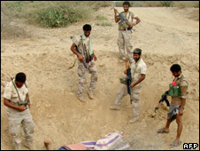 Yemeni troops attack Houthi rebels 01 February