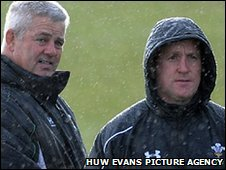 Wales coaches Warren Gatland and Shaun Edwards have a new game plan