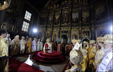 Enthronement of Serbian Patriarch