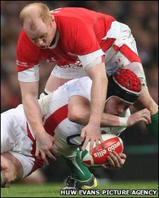Wales flanker Martyn Williams may have to modify his tackle technique