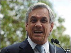 Chile's President-elect Sebastian Pinera - 18 January 2010